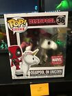 Funko Pop Rides #36! Marvel Deadpool on Unicorn Marvel Collector Corps Exclusive