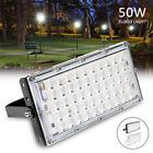 50W Luz de Inundación 220V Impermeable LED Exterior Foco Reflector Pared Lámpara