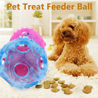 Dog Pet Puppy Teething Dental Health Treat Clean Toy Durable Rubber Ball Chew UK