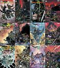 BATMAN TEENAGE MUTANT NINJA TURTLES III - Select issues from crossover - DC/IDW