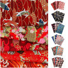 Bulk Cotton Fabric Cartoon Printed Quilting Cloth Sewing Crafts Lot By Half Yard