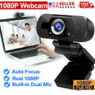BEST 1080P Full HD USB Webcam Web Camera with Microphone for PC Desktop & Laptop
