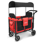 WonderFold W2 Multi-Function Double Stroller Wagon with Raised Seat (Nearly New)