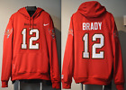 Tom Brady Tampa Bay Buccaneers Jersey NFL Hooded Sweatshirt Embroidered Hoodie $119.0 USD on eBay
