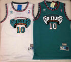 Kyпить Mike Bibby #10 Hardwood Classics Throwback Vancouver Grizzlies Teal/White Jersey на еВаy.соm