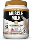 Muscle Milk Coffee House Caffeinated Protein Powder,32g Protein,1.93 pound $22.3 USD on eBay