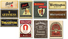 Vintage drinks canvas classic breweriana decor bar man cave home gift dad him