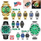 BELUSHI 1985 Men's Stainless Steel Thin Mesh Band Slim Analog Quartz Wrist Watch image