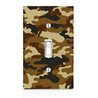 Military Camo, Camouflage Switch Cover, Home Decor, Night Light, Cabinet knob