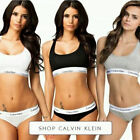 Calvin Klein Underwear And Top In Black,Gray And White
