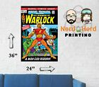 Marvel Premiere #1 Warlock Cover Wall Poster Multiple Sizes 11x17-24x36