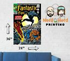 Fantastic Four #52 Marvel Wall Poster Multiple Sizes 11x17-24x36 image