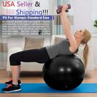 Exercise Workout Yoga Ball for Yoga Fitness Pilates Sculpting Balance with Pump image