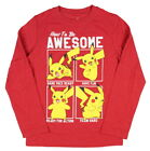 Pokemon Boy's How To Be Awesome Long Sleeve T-Shirt
