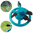 360° Automatic Rotating Lawn Sprinkler Garden Grass Watering System Water Spray