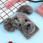 Cute Soft Fluffy Furry Plush Shockproof Case Cover Shell Skin for Samsung Phones