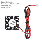 1Pcs 40 * 40 * 10mm DC 12V Brushless Cooler Cooling Fan 2 Wire for 3D R6Z3