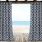 Lush Decor Edward Trellis Outdoor Curtain Panel Pair - 52