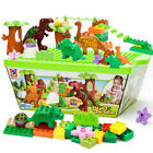 Set of 40 Dinosaur Jurassic Building Block Educational Toy for Children Fun UK