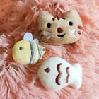 Cat Toy With Catnip Toy Soft Catnip Pillow Toys Kitten Lovely Fish and Cat Faces