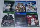 All Brand-New XBox One & Playstation 4 Unopened & Factory Sealed (Game is loose)