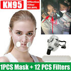 Clear Reusable Masks Washable Face Mouth Cover Filters Respirator Face Shield Us