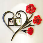 3d Rose Flower Wall Sticker Removable Home Decor Decal Room Vinyl Diy Decoration