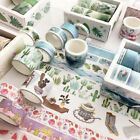 8Pcs Washi Tape Set Masking Cute Stickers School Stationery DIY Diary Supplies