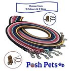 Soft Rolled Leather Puppy and Dog Lead Pet Leash for Small to Medium Dogs