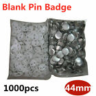 1000pcs 44mm Blank Pin Badge Button Supplies for Badge Making Machine