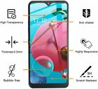 For LG Phoenix 5/Fortune 3/Tribute Monarch/K31 Clear Full Glass Screen Protector