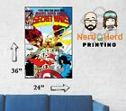Marvel Secret Wars #9 1984 Cover Wall Poster Multiple Sizes 11x17-24x36
