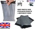 Strong Poly Mailing Grey Postal Bags All Sizes For Packaging Self Seal Mail Bags