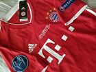 Kyпить Lewandowski #9 Bayern Munich 2020 Champions League Final Lisbon Jersey  на еВаy.соm