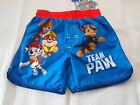 Infant Boy's Swim Bottoms, Size 18 Months, Choice Of Paw Patrol Or Super Heroes