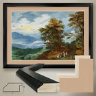 """44W""""x32H"""": AN EXTENSIVE LANDSCAPE by JOOS MOMPER - DOUBLE MATTE, GLASS and FRAME"""