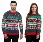 HIS & HER Matching Christmas Jumpers Cracking Novelty Xmas Knit Sweater Nordic