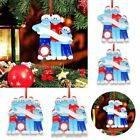 Add Name 2020 Xmas Christmas Tree Hanging Ornaments Family Ornament Decor Gift