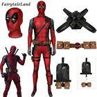 Deadpool Wade Wilson Cosplay Outfit 3D Printed Jumpsuit with Accessories