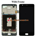 For OnePlus 1 2 3 5 LCD Touch Screen Digitizer Assembly Replacement Frame Black