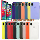 For Apple iPhone 11 Pro X XR XS Max 7 8Plus Genuine Original Silicone Case Cover