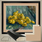 "38Wx32H"": STILL LIFE WITH QUINCES by V VAN GOGH - DOUBLE MATTE GLASS and FRAME"
