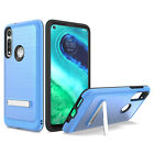 For Motorola Moto G Fast Case, Slim Kickstand Cover+Tempered Glass Protector