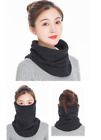Winter Neck Gaiter Face Scarf Cover Sun Protection Windproof with Ear Loops