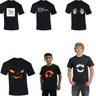 Halloween Mens Boys Skeleton Paws Vampire T Shirt Boo Ghost Casual Funny Tee