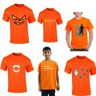 Halloween Mens Boys Devil Pumpkin Zombie T Shirt Boo Ghost Parody Funny Tee