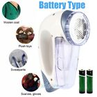 3 Blades Electric Clothes Lint Pill Fluff Remover Fabrics Sweater Fuzz Shaver US