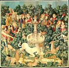 Hunt+of+the+Unicorn++French+Wall+Tapestry+35%22+x+35%22+Canvas+Fabric%21+STUNNING%21