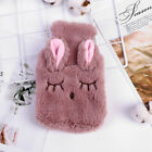 Cute Hot Water Bottle Bag with Knitted Cover Winter Heat Hand Warmer ホッカイロ