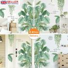 Tropical Leaves Green Plant Wall Stickers Pvc Decal Nursery Art Mural Home_decor